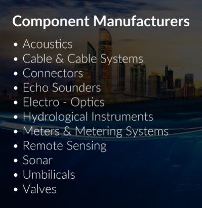 Component Manufacturers